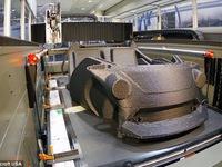 Ô tô đầu tiên sản xuất bằng công nghệ in 3D