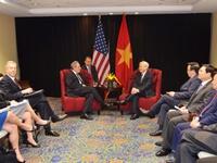 Tổng Bí thư hội kiến Đại diện Thương mại Hoa Kỳ