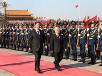 Tổng Bí thư Nguyễn Phú Trọng gửi điện cảm ơn Tổng Bí thư, Chủ tịch Trung Quốc