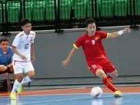 Nhọc nhằn thắng Myanmar, ĐT futsal Việt Nam đặt một chân vào bán kết