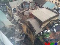 Chưa có hướng giải quyết đối với ngôi biệt thự cổ bị sập tại Hà Nội