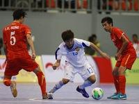Futsal Việt Nam thắng đậm 13 - 1 trước đội tuyển Lào
