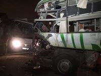 Bình Thuận: Hai xe khách đấu đầu, 10 người thiệt mạng
