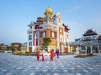 Tới Đà Nẵng đón lễ hội hoa xuân ở công viên châu Á