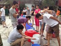 Nhiều khu vực ở Hà Nội thiếu nước sạch trong mùa Hè này