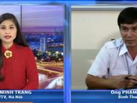 Bình Thuận: Đã tìm được con tàu bị chìm tại Phan Thiết