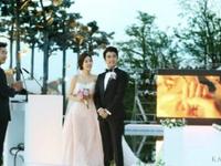 Ahn Jae Wook tràn ngập hạnh phúc trong ngày cưới