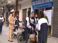 Công bố kế hoạch quốc gia về đội mũ bảo hiểm cho học sinh