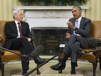 Cuộc hội đàm giữa Tổng Bí thư Nguyễn Phú Trọng và Tổng thống Obama thu hút truyền thông quốc tế