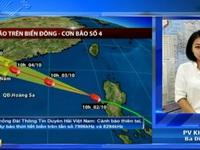 Bão số 4 có thể sẽ đổ bộ trực tiếp vào Quảng Ninh