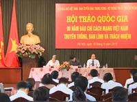 90 năm báo chí Cách mạng Việt Nam: Truyền thống, bản lĩnh và trách nhiệm