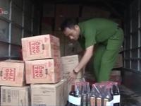 Thu giữ hàng nghìn lít nước mắm giả nhãn hiệu Chin su, Nam Ngư, ông Tây