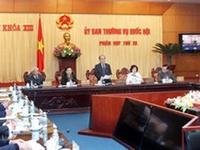 Bế mạc phiên họp 38 Ủy ban Thường vụ Quốc hội