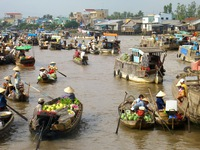 Ghé thăm chợ nổi - đặc sản nơi sông nước miền Tây