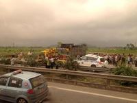 Vụ tai nạn tại Pháp Vân - Cầu Giẽ: Hiện trường không có hệ thống đèn chiếu sáng