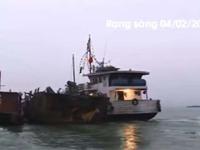 Cháy tàu trên Vịnh Hạ Long: Nguyên nhân cháy vẫn bí ẩn