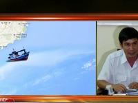 Bình Thuận: Tìm kiếm 7 thuyền viên vụ chìm tàu gặp khó do thời tiết xấu