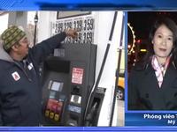 Giá dầu thô giảm xuống mức kỷ lục