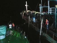 Bắt giữ hơn 100.000 lít dầu lậu trên vùng biển Quảng Ninh