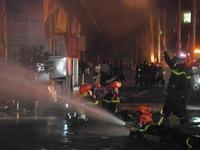 Cháy lớn tại tòa nhà CT4 khu đô thị Xa La, Hà Đông