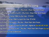 Tai nạn thảm khốc ở Bình Thuận: Công bố danh tính các nạn nhân tử vong