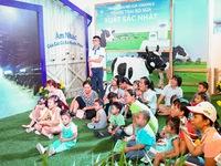 """Hàng ngàn trẻ em vui chơi tại """"Thế giới sữa Vinamilk"""""""