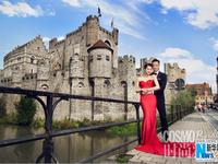 Hồ Hạnh Nhi khoe ảnh cưới lãng mạn ở trời Âu