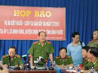 Vụ thảm sát ở Bình Phước: Mục đích là trả thù tình, cướp tài sản