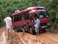 Điện Biên: Mưa lũ, 7 xã khu vực biên giới bị chia cắt