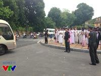 Các chiến sĩ Cảnh sát cơ động ứng trực liên tục dịp Quốc khánh