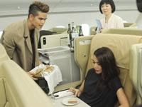 Tập làm tiếp viên hàng không, thí sinh Next Top Model bị Thanh Hằng làm khó