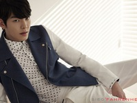 Kim Woo Bin lịch lãm trong BST Hè của Sieg Fahrenheit