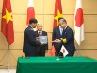 Việt Nam - Nhật Bản ký kết 6 văn bản hợp tác