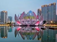 Tuyệt đẹp tòa nhà hoa sen ở Trung Quốc