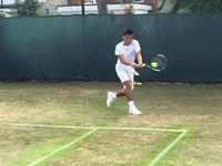 Lý Hoàng Nam vào vòng 2 đôi nam Wimbledon trẻ 2015