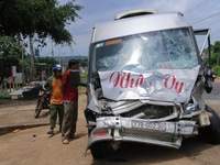 Nhiều vụ tai nạn giao thông xảy ra trong ngày cuối tuần