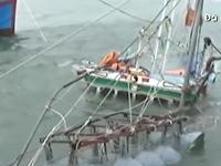 Mưa bão gây chìm tàu, ngập lụt tại các tỉnh miền Trung