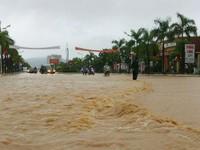 Địa hình là một trong những nguyên nhân gây ra trận mưa lớn ở Quảng Ninh