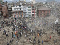Các nước chung tay khắc phục hậu quả động đất ở Nepal