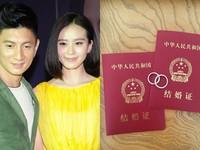 Ngô Kỳ Long, Lưu Thi Thi bí mật kết hôn