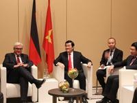 Chủ tịch nước tiếp Bộ trưởng Ngoại giao Đức