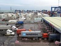 Chưa đảm bảo an toàn cháy nổ tại cảng Cát Lái, TP.HCM