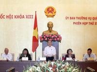 Khai mạc phiên họp thứ 38 Ủy ban Thường vụ Quốc hội