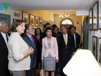 Chủ tịch Quốc hội Nguyễn Sinh Hùng thăm Đại học Harvard