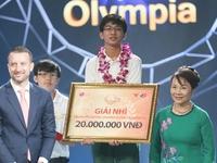 Á quân Đường lên đỉnh Olympia 2015 Nhật Trường hài lòng với kết quả trận chung kết