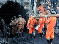 Sập hầm mỏ thạch cao tại Trung Quốc, 19 người mắc kẹt