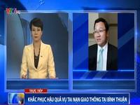 Tai nạn thảm khốc ở Bình Thuận: Do một xe khách vượt sai