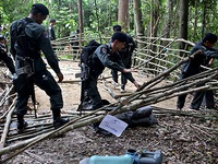 Thái Lan bắt giữ 5 nghi phạm buôn người trái phép