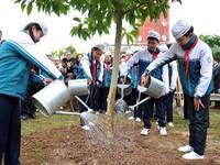 Tết trồng cây với thông điệp bảo vệ môi trường
