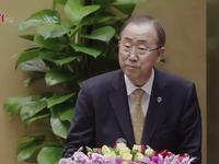 Tổng Thư ký LHQ lần đầu tiên phát biểu trước Quốc hội Việt Nam